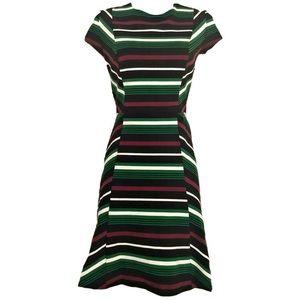 Michael Kors Sz 12 striped skater dress
